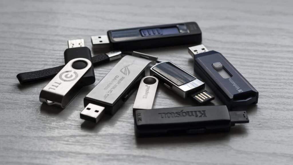 Utilité clé USB