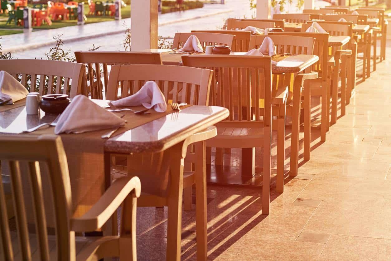 mobilier Café Hôtel Restaurant